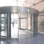 Big scale round door